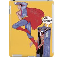 Wrong Phone Booth iPad Case/Skin