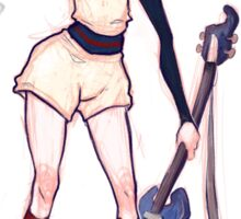 Haruko FLCL - Baseball Outfit Sticker