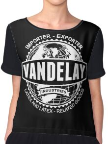 vandelay industries Chiffon Top
