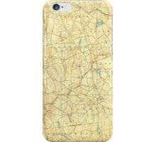 USGS TOPO Map Connecticut CT Gilead 331027 1892 62500 iPhone Case/Skin