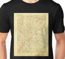USGS TOPO Map Connecticut CT Gilead 331027 1892 62500 Unisex T-Shirt