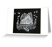 Hold Onto Your Dreams Greeting Card