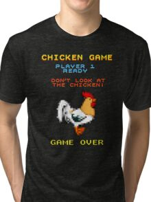 Chicken Game! Tri-blend T-Shirt