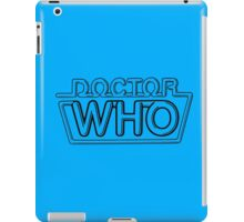 Doctor Who Logo - Seventh Doctor iPad Case/Skin