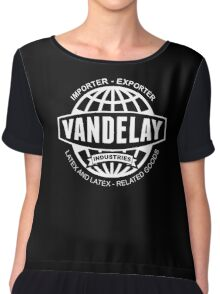vandelay logo Chiffon Top
