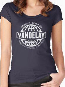 vandelay logo Women's Fitted Scoop T-Shirt