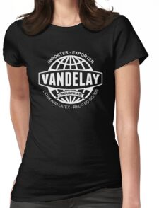 vandelay logo Womens Fitted T-Shirt