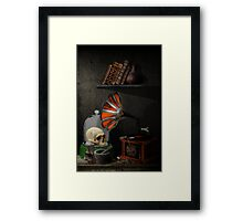 Still-life with the gramophone Framed Print
