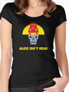 Alice isn't dead Women's Fitted Scoop T-Shirt