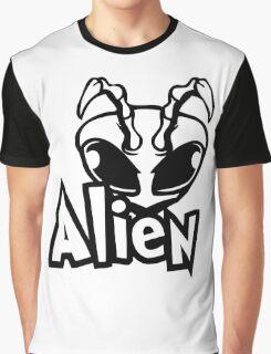 Alien Bandana Graphic T-Shirt