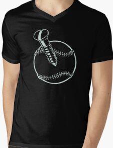 Ball Screw Mens V-Neck T-Shirt