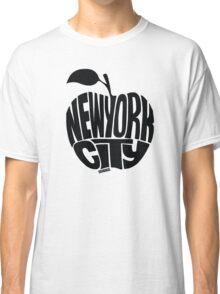 NYC Big Apple (Black) Classic T-Shirt