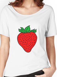 strawberry Women's Relaxed Fit T-Shirt