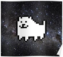 Annoying dog in space Poster
