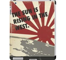 The sun is rising  iPad Case/Skin