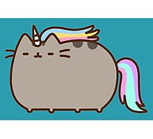 Cat Unicorn Photographic Print