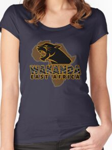 African Nation Women's Fitted Scoop T-Shirt