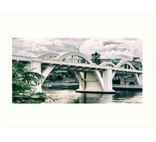 William Jolly Bridge in the afternoon Art Print