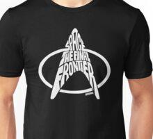 Star Trek Final Frontier (White) Unisex T-Shirt