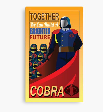 Join Cobra Canvas Print