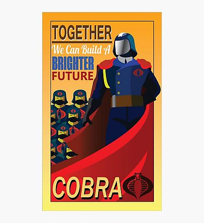 Join Cobra Photographic Print