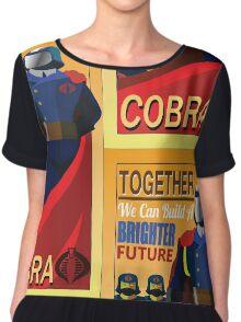 Join Cobra Chiffon Top