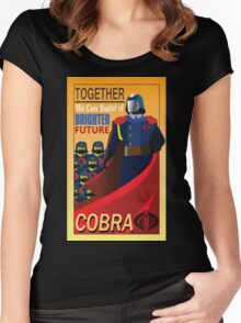 Join Cobra Women's Fitted Scoop T-Shirt
