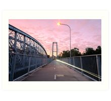Walter Taylor Bridge  Art Print