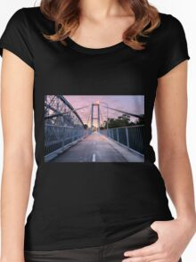 Walter Taylor Bridge  Women's Fitted Scoop T-Shirt