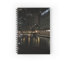 Chicago-City/Trump Tower Spiral Notebook