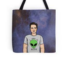 Space Mulder Tote Bag