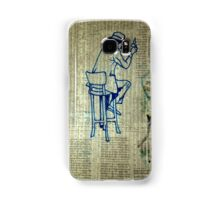 Backside Of The Paper Samsung Galaxy Case/Skin