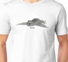 Nope Sloth Unisex T-Shirt
