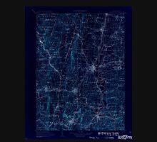 USGS TOPO Map Connecticut CT Farmington 331213 1906 125000 Inverted Unisex T-Shirt