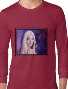 Diana portrait 2 Long Sleeve T-Shirt