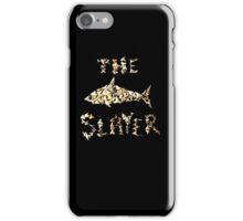 The Shark Slayer iPhone Case/Skin