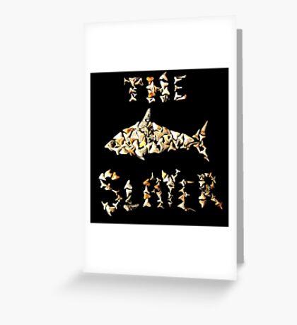The Shark Slayer Greeting Card