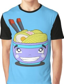 Happy Ramen Graphic T-Shirt