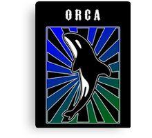 Orca Rays Canvas Print
