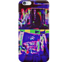 CRAZY COLORED FIREPLACE iPhone Case/Skin
