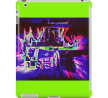 CRAZY COLORED FIREPLACE iPad Case/Skin