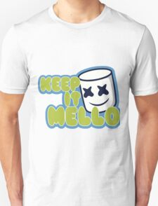 Marshmello Blue T-Shirt