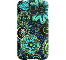 flowers abtract Samsung Galaxy Case/Skin