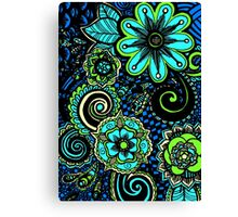 flowers abtract Canvas Print