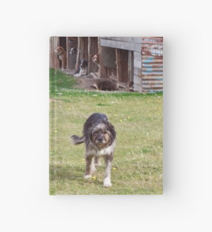 Old Man on the Serrano Hardcover Journal