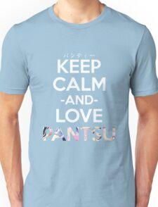 Keep Calm and Love Pantsu Anime Manga Shirt Unisex T-Shirt
