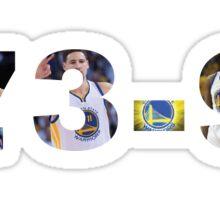 Warriors Making History 73-9 Sticker