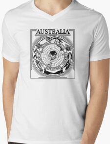 Australian National Antarctic Research Expeditions ' reproduction concept Mens V-Neck T-Shirt