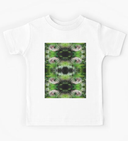 Flowers Fractal Pattern Kids Tee