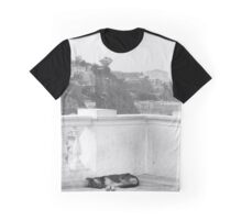 Naptime in Valapraiso Graphic T-Shirt
